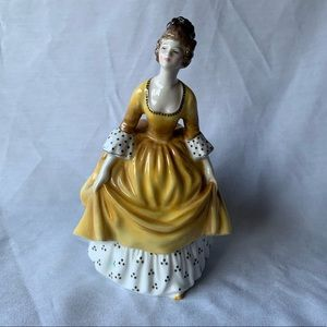 "Vintage Royal Doulton Bone China ""Coralie"" Lady"